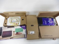 2 EE smart routers, 1 Direct Save TWV63167 router, 1 Technicolor DWA0120 router & 1 Talktalk wifi
