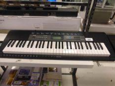 Casio CTK2550 keyboard Used item, no PSU