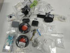 Quantity of wired earphones, wireless earphones and earphone accessories