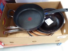 Small quantity of used pans