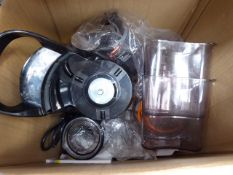 Box containing a Fridja juicer