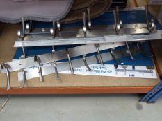 7 stainless steel hook rails