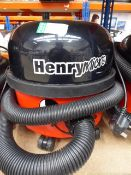 Henry micro vacuum cleaner with pole plus small bag of accessories