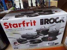 Starfrit The Rock cookware set with box Light use, pan missing