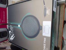 4 boxed BergHOFF Eurocast Professional Series pancake pans