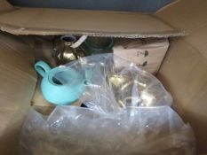 Assorted cookware to include bowls, cups and plates