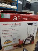 (TN97) BlendTech Total Classic blender with 2 attachments (2 jugs)