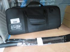 Kangshang knife set in zipped case plus 2 carving knives