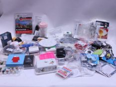 Mixed homewares inc. blackspur brushes, egg poaching bags, butter dish, eco friendly cup, viralizer,
