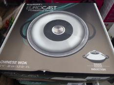 Boxed BergHOFF Eurocast Professional Series Chinese wok