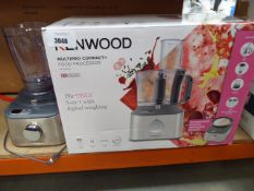 (TN84) Kenwood MultiPro compact plus food processor with box