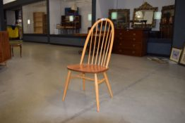 Single Ercol elm spindle back dining chair Good condition