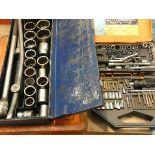 Kasmar screw bit set and 3 socket sets