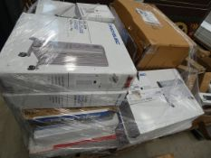 Pallet containing approx. 30 ProElec oil filled radiators and convector heaters