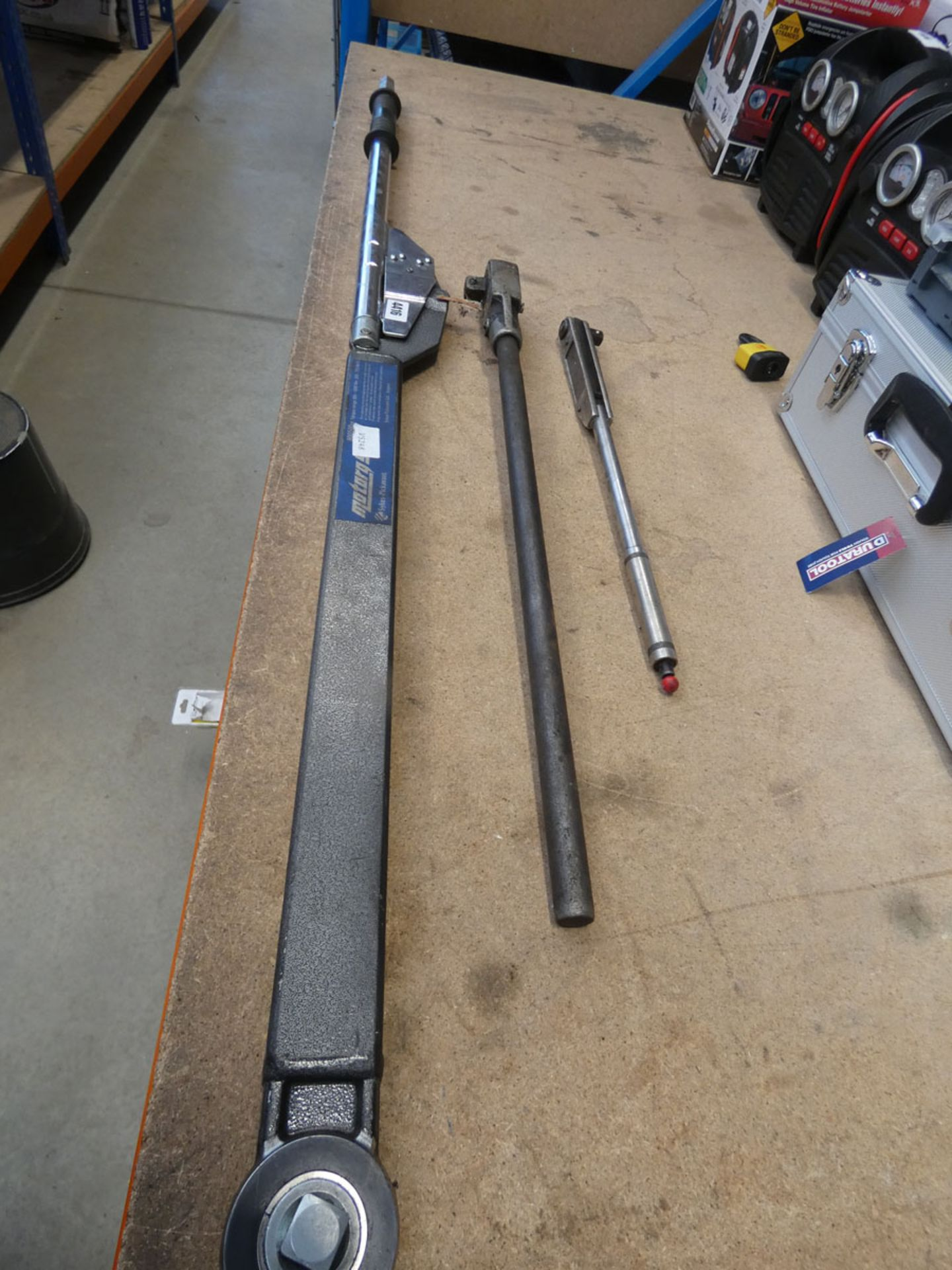 Sykes-Pickavant large torque wrench and 2 other wrenches - Image 2 of 2