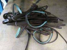 Small bundle of horse tack