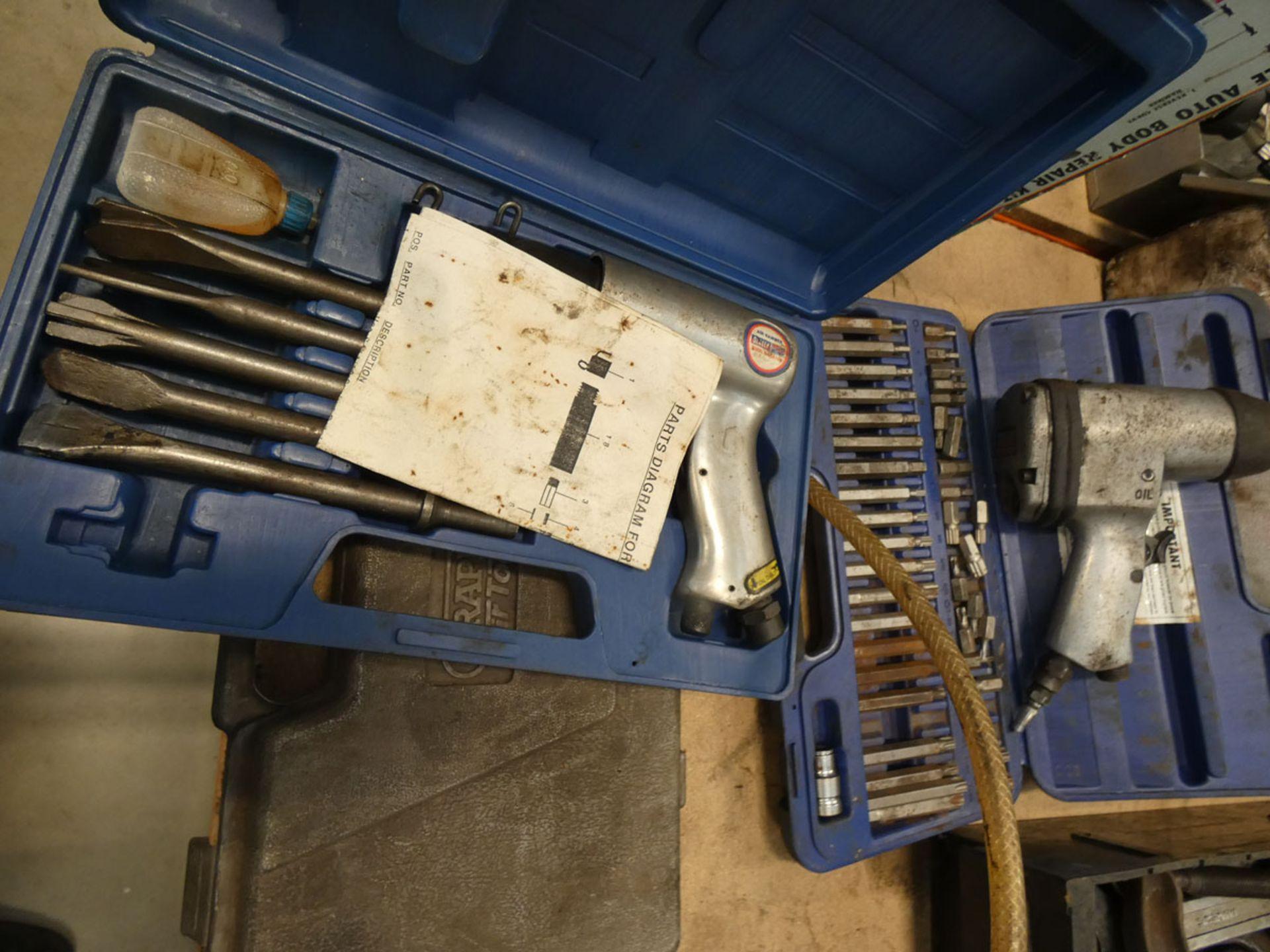Kamasa 7 piece auto body repair kit