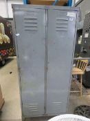 4140 2 metal lockers