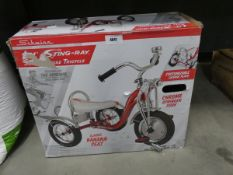 Stingray boxed tricycle