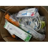 Box of extension cables