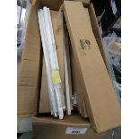 Box of fluorescent lighting tubes