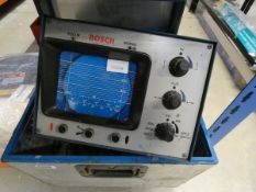 Bosch vehicle testing oscilloscope