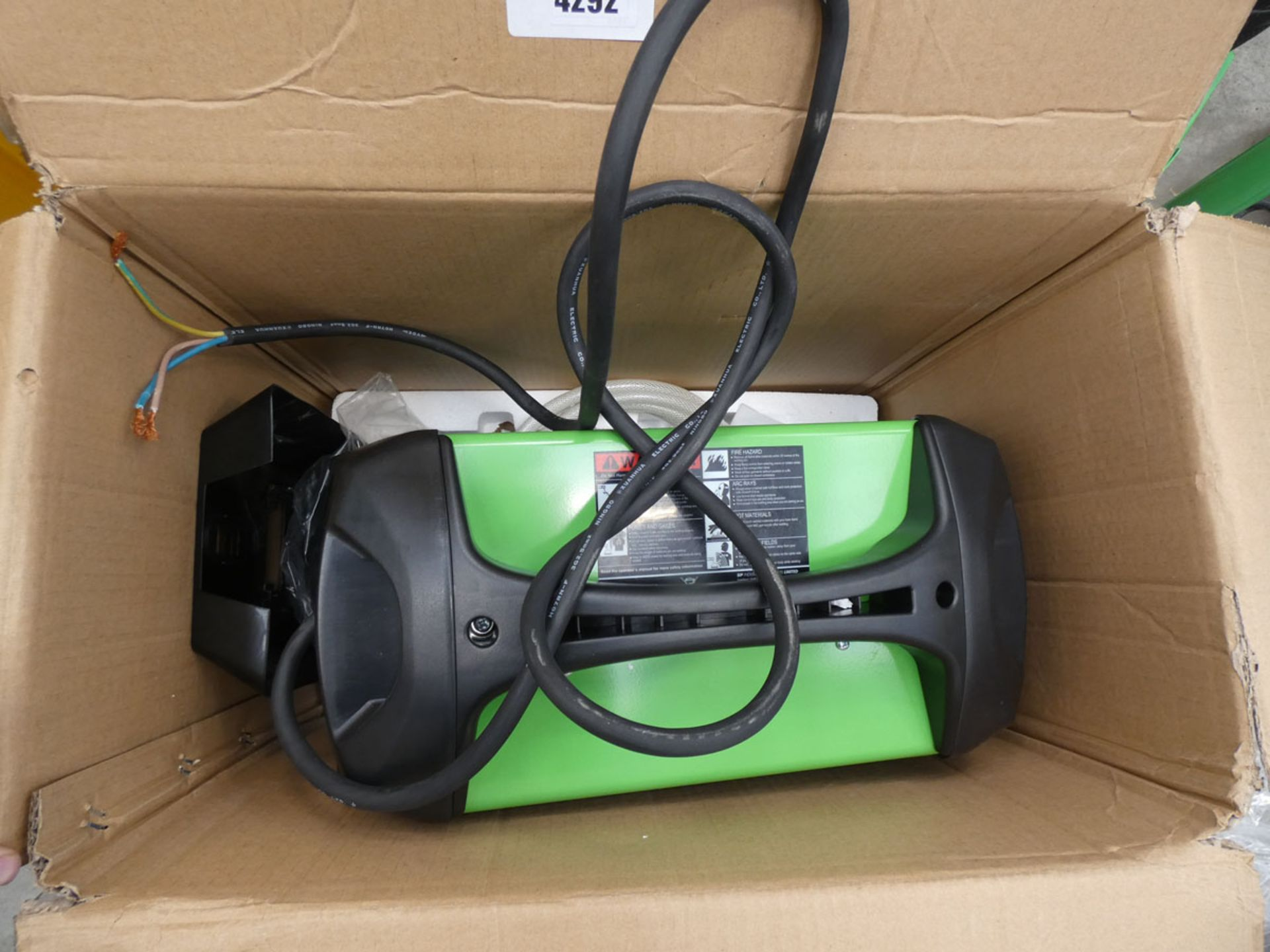 SIP Weldmate HG2300MP inverter welder, boxed - Image 3 of 3