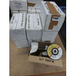 8 boxes of metal angle grinder grinding discs
