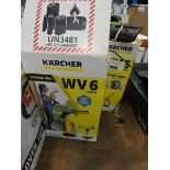 4754 - 3 Karcher window vacuums
