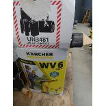 2 Karcher window vacuums