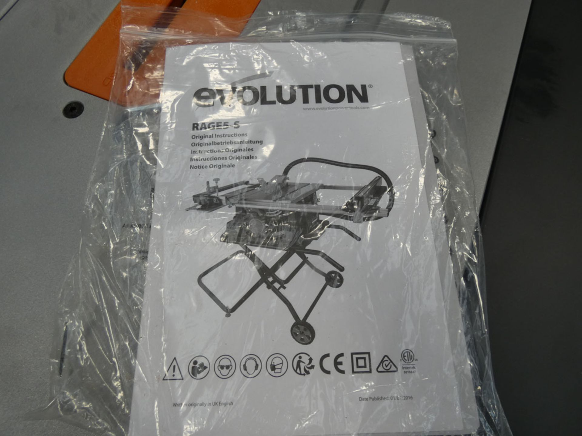 Evolution Rage 5-S table saw - Image 2 of 6