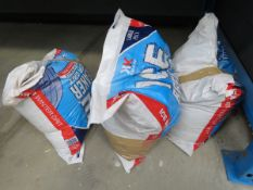 3 bags of rock salt