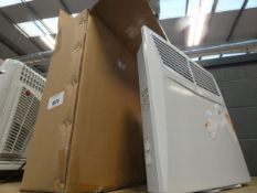 2 boxed and 1 unboxed panel heaters