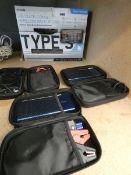 Wireless backup camera and 3 power banks