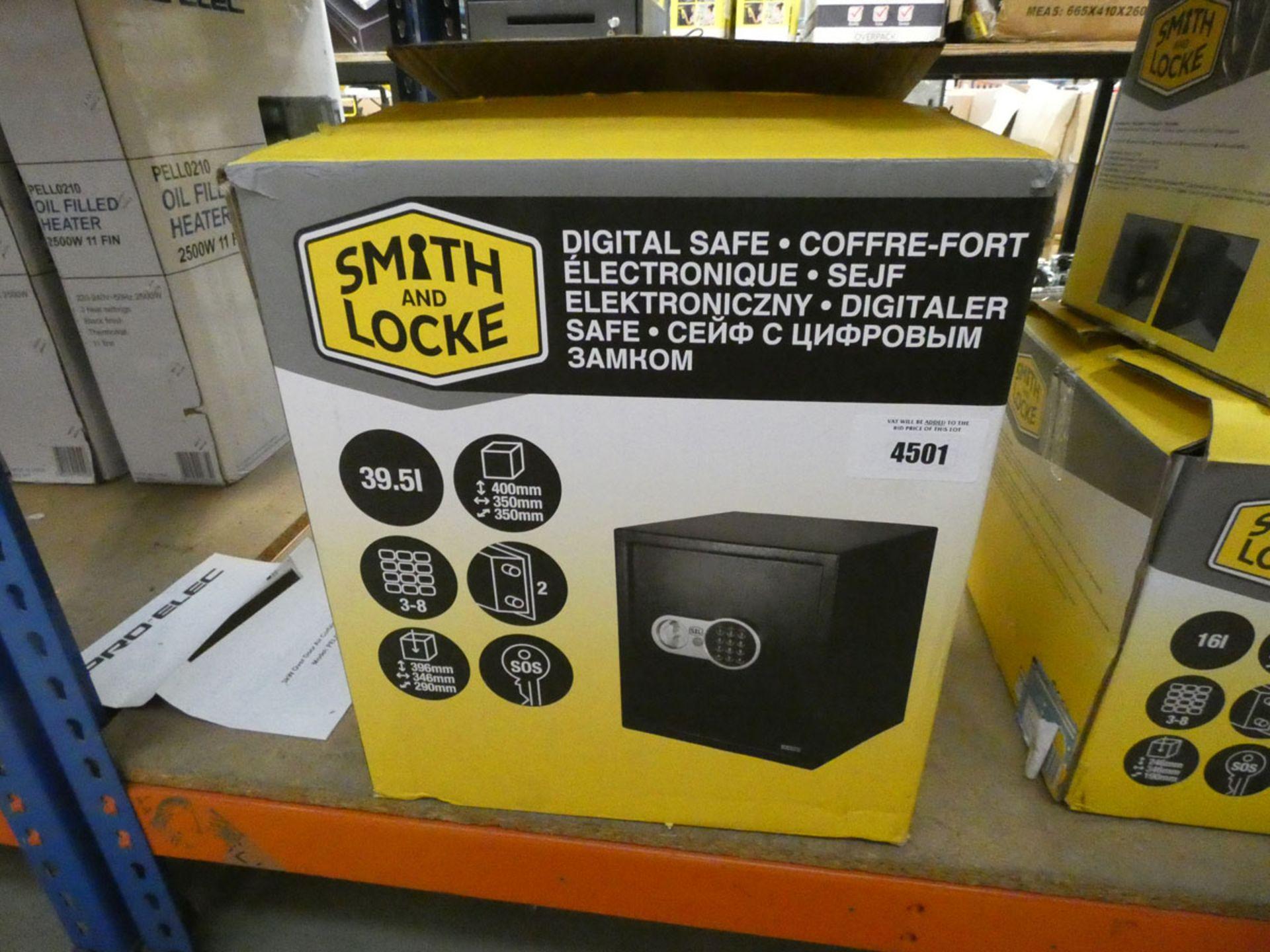 Large Smith & Locke digital safe