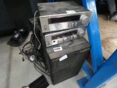 Wallis digital tuner and amplifier and 2 speakers