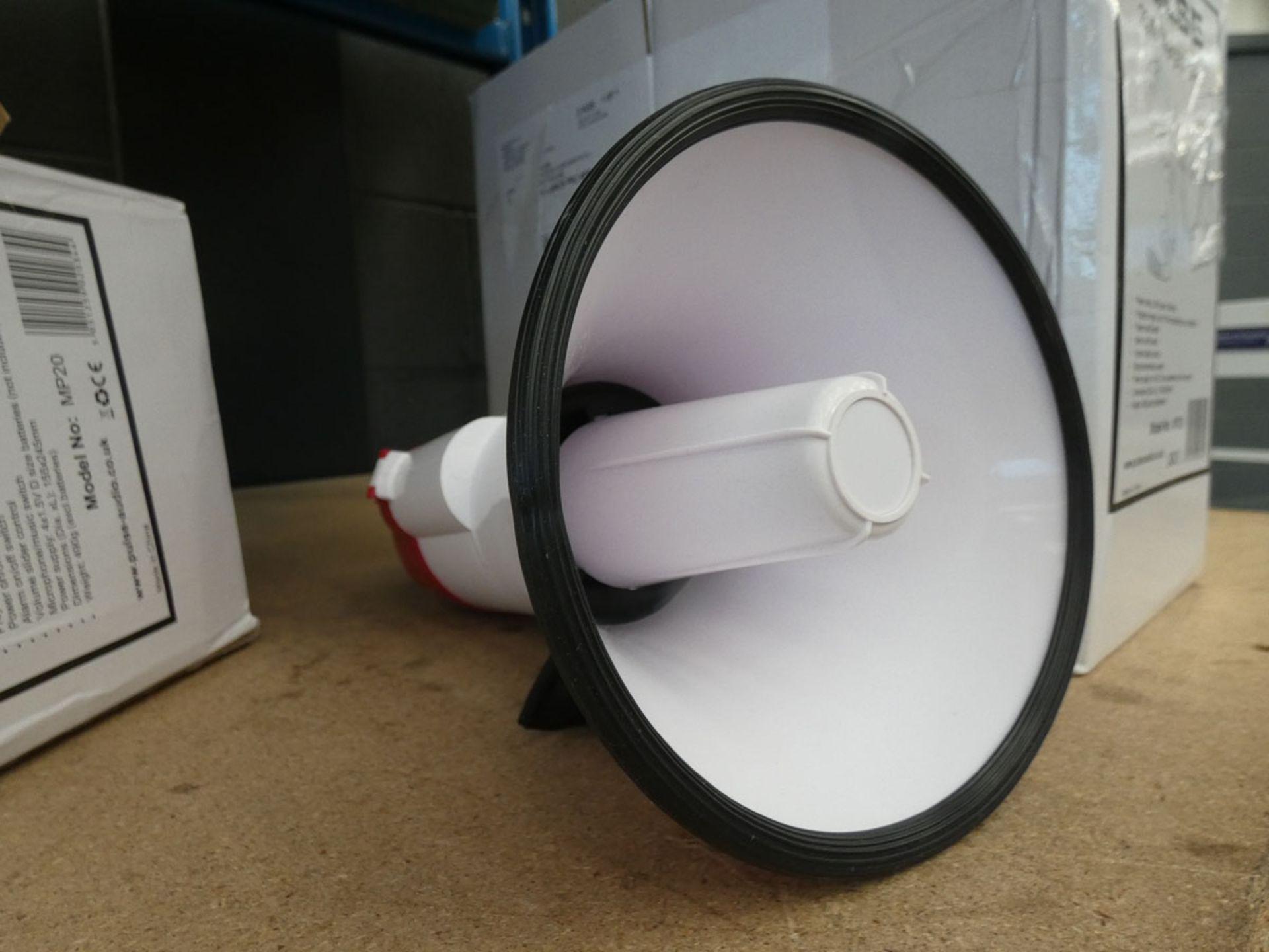 3 megaphones - Image 2 of 2