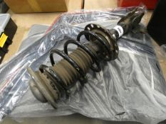 Vauxhall shock absorber and spring, set of mats, and wind deflectors