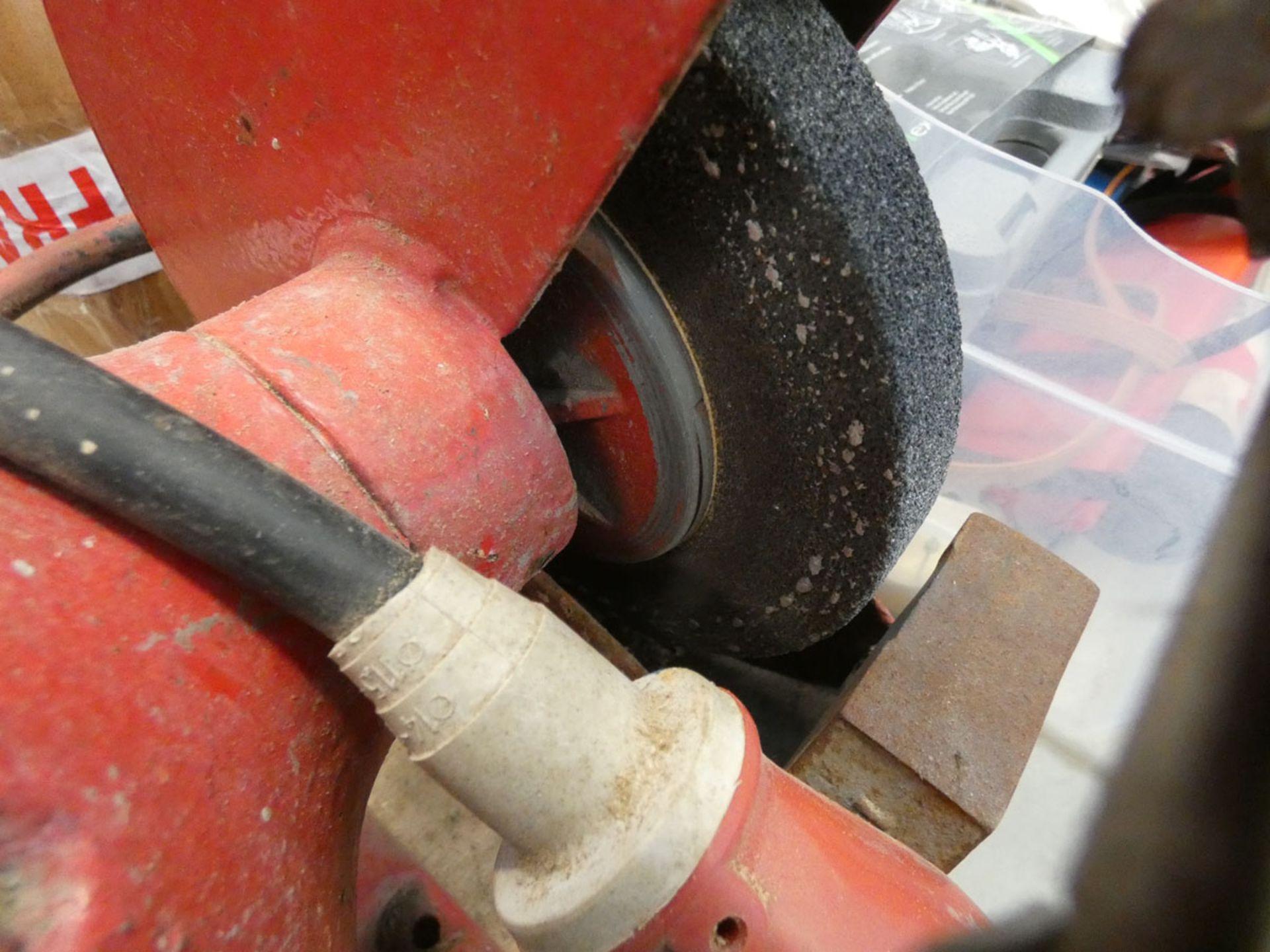 Large Black & Decker 8'' double ended bench grinder - Image 3 of 4