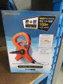4069 Boxed 100m tape measure