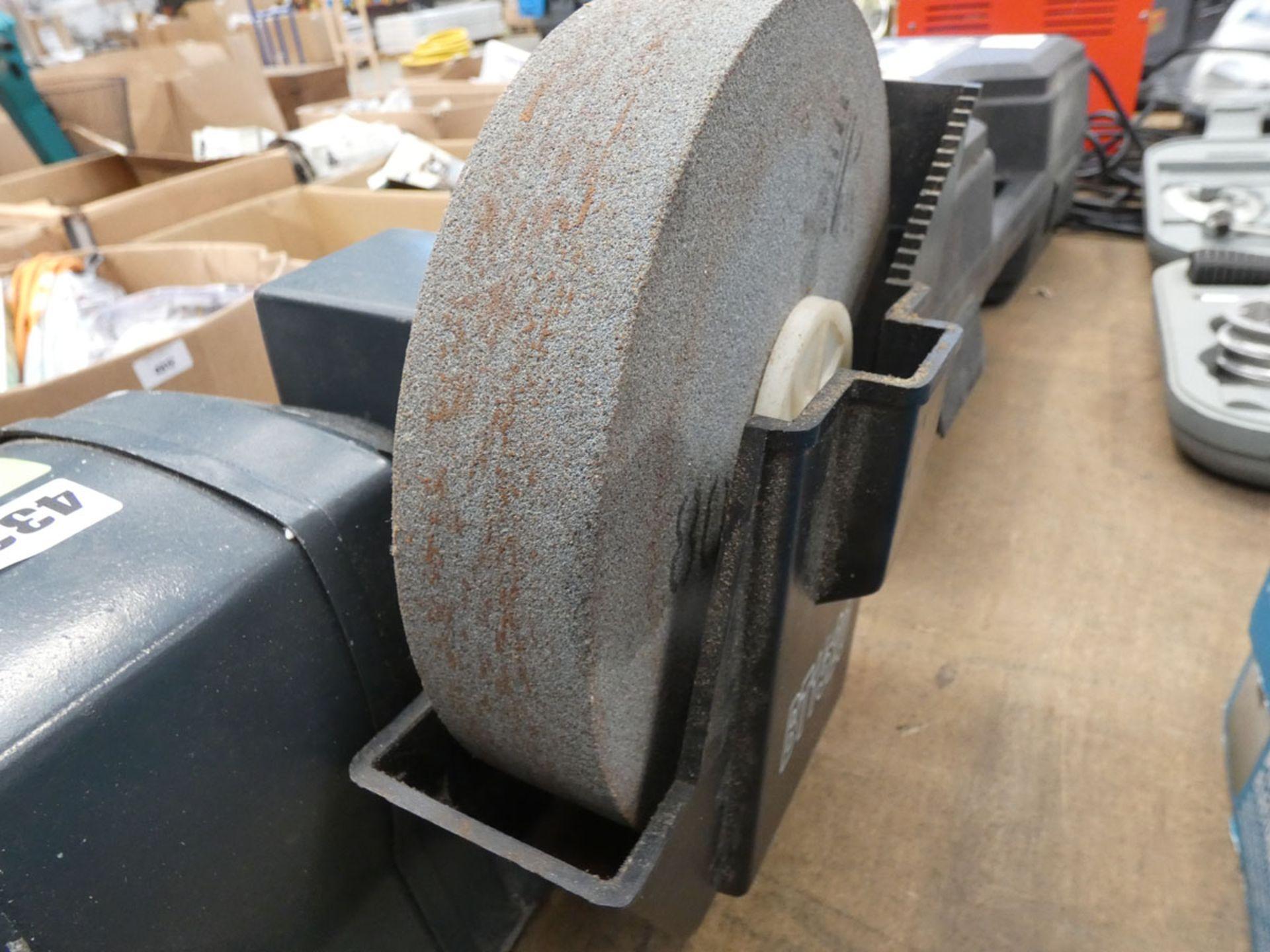 Newtool bench grinder and wet grinder - Image 4 of 4