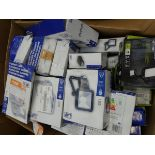 Box of security lights