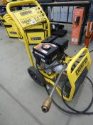 Champion petrol powered pressure washer