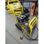Champion petrol powered pressure washer