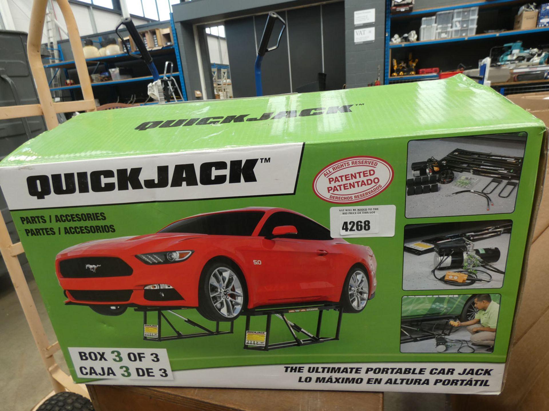 Boxed Quick Jack accessory box