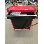 Clarke red tool cabinet
