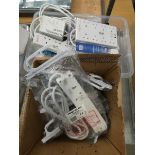 2 boxes of extension cables