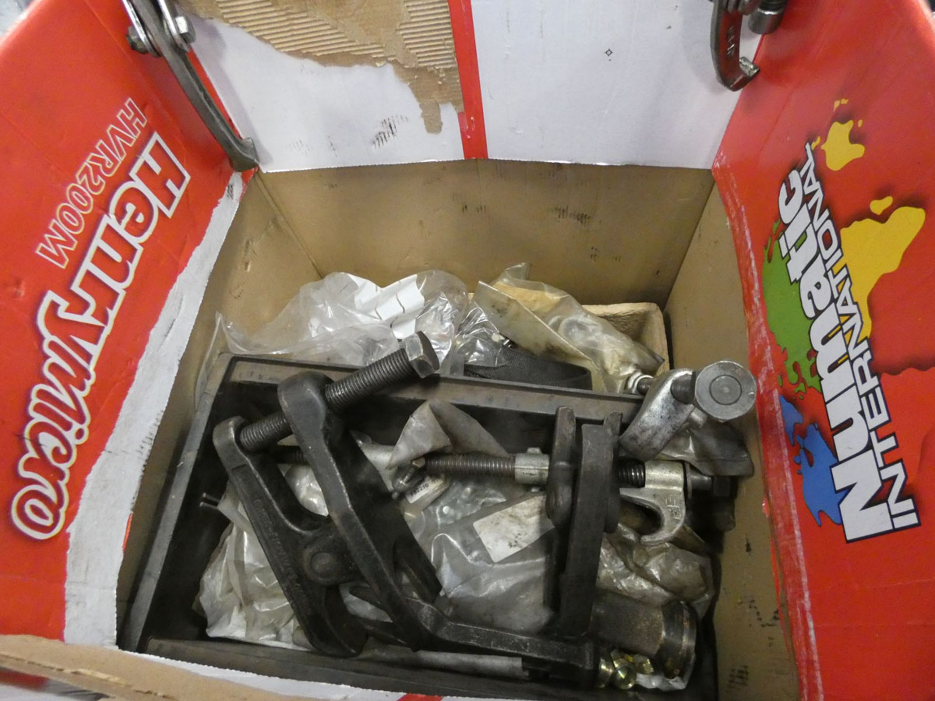 Box of various pullers