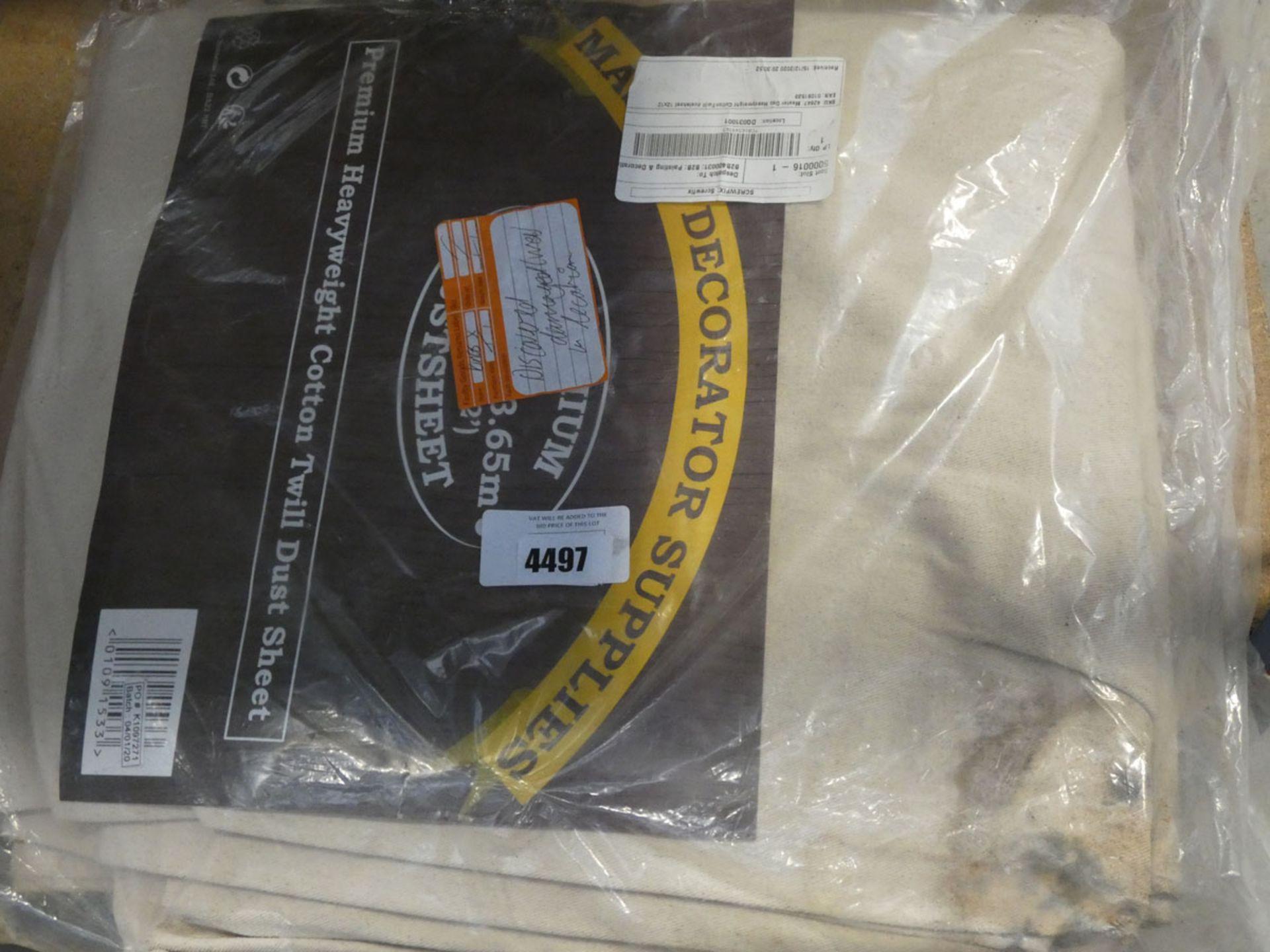 4826 Large dust sheet