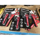 3 sets of Steelman adjustable wrenches